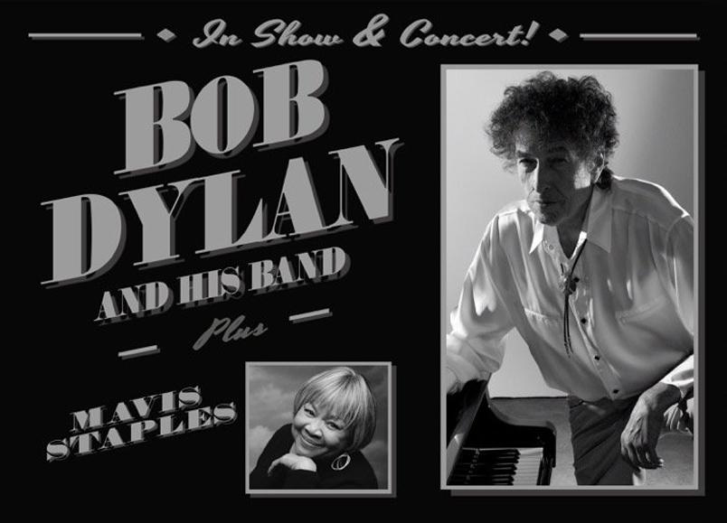 Bob Dylan and Mavis Staples